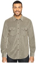 True Grit Softest Sueded Cord Long Sleeve Two-Pocket Shirt