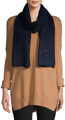 Calvin Klein Studded Knit Scarf