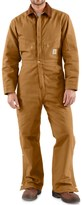 Carhartt Quilt Lined Duck Coveralls - Factory Seconds (For Men)
