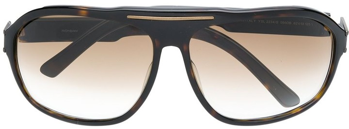 Yves Saint Laurent Pre Owned 1970's Gradient Sunglasses