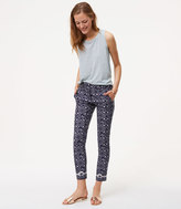 LOFT Tall Floral Essential Skinny Ankle Pants in Marisa Fit