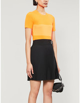 Helmut Lang Striped knitted T-shirt