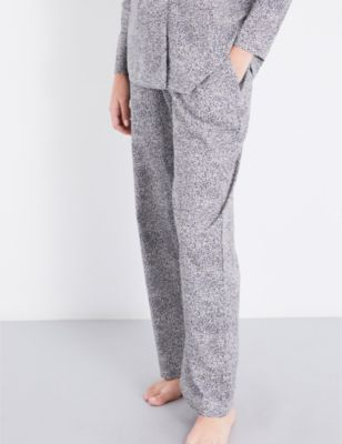 Hanro Straight cotton-jersey pyjama bottoms