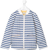 Bobo Choses striped quilted bomber jacket
