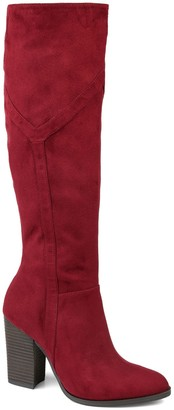 Journee Collection Kyllie Tall Boot - Extra Wide Calf
