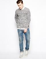 Selected Sweater In Mixed Yarn