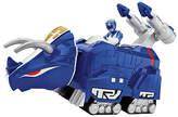 Imaginext Power Rangers Blue Ranger & Triceratops Zord