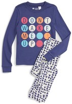 Tucker Toddler Girl's + Tate Fitted Two-Piece Pajamas