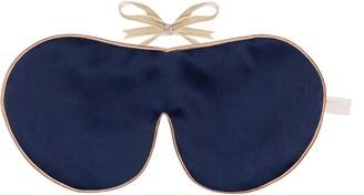 Holistic Silk Pure Mulberry Silk Lavender Eye Mask Navy