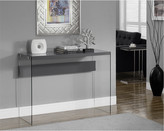 Monarch Tempered Glass Sofa Console Table