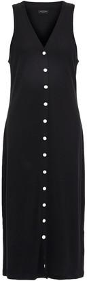 Rag & Bone Ribbed Cotton And Modal-blend Jersey Dress