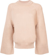 Nina Ricci wide sleeve ribbed jumper
