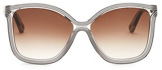 Chloé 58MM Rita Soft Square Sunglasses