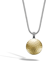 John Hardy Women's Dot Hammered Enhancer in Sterling Silver and 18K Gold