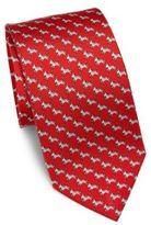 Salvatore Ferragamo Zebra Silk Tie