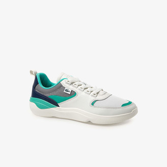 Lacoste Men's Wildcard Leather and Textile Sneakers