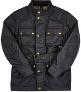 Belstaff Coated-Cotton Belted Jacket