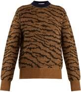 Toga Animal-jacquard wool-blend sweater