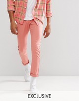 Liquor N Poker Slim Chino Dusky Pink