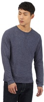 Red Herring Blue Waffle Crew Neck Jumper