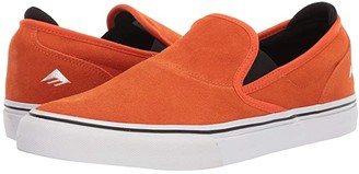 Emerica Wino G6 Slip-On X Bronson (Orange) Men's Shoes