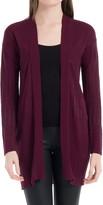 Max Studio Ribbed Cardigan Sweater