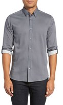 Ted Baker Men's 'Dogydog' Trim Fit Medallion Print Sport Shirt