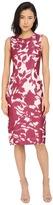 Prabal Gurung Floral Shadow Print Sleeveless Dress Women's Dress