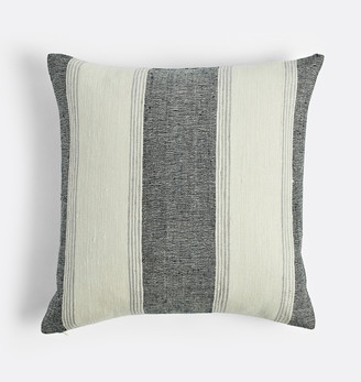 Rejuvenation Silk Striped Pillow Cover