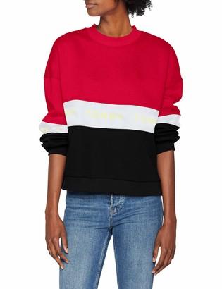 Tommy Jeans Women's Colorblock Long Sleeve Sweatshirt