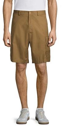 Helmut Lang Aviator Cotton Shorts