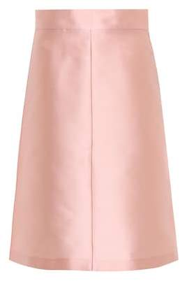 RED Valentino Silk-blend skirt