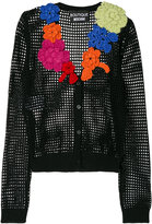 Moschino open-knit cardigan