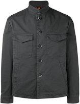 Barena shirt jacket - men - Cotton/Spandex/Elastane - 48