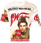 J.W.Anderson Militant Men self-portrait T-shirt