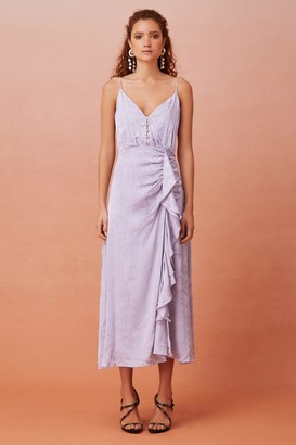 Keepsake FLEUR MIDI DRESS Powder Lilac
