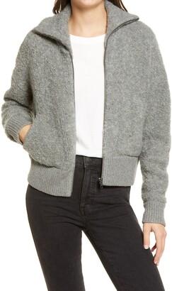 Madewell Full Zip Sweater Jacket