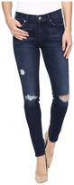 7 For All Mankind The Skinny w/ Destroy in Dark Brisbane Women's Jeans