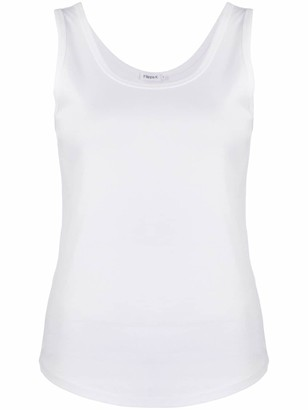 Filippa K Robin curved hem tank top