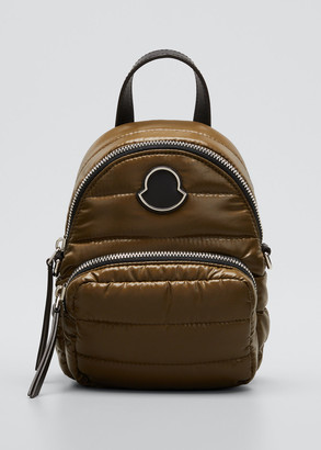 Moncler Kilia Small Crossbody Backpack, White