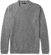 HUGO BOSS Igus Mélange Mouline Cotton Sweater