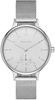 Skagen Women's Chronograph Anita Stainless Steel Mesh Bracelet Watch 34mm SKW2437, First at Macy's