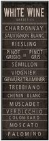 "Art.com Wine Varieties II"" Wall Art"