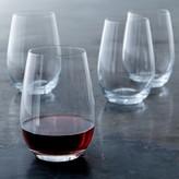 Williams Sonoma Open Kitchen Stemless Red Wine Glasses, Set of 4
