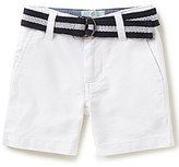 Class Club Little Boys 2T-7 Belted Oxford Short