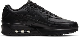 Nike Kids Air Max 90 LTR Leather Trainers