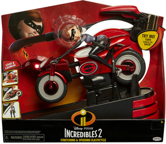 Jakks Pacific Disney Incredibles 2 Mrs. Incredible and Elasticycle Figure