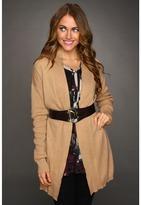 Calvin Klein Dropped Shoulder Sweater (Heather Camel) - Apparel