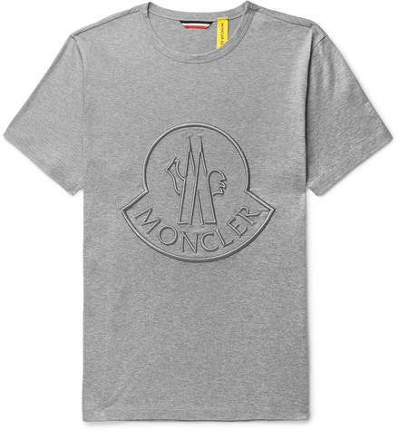 Moncler Genius 2 1952 Logo-Embroidered Cotton-Jersey T-Shirt