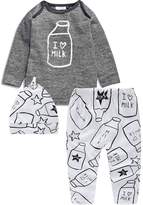 Pretty Tiger Baby's 3pcs Newborn Baby Boys T-shirt Tops+ Print Pants +hat Outfits Set